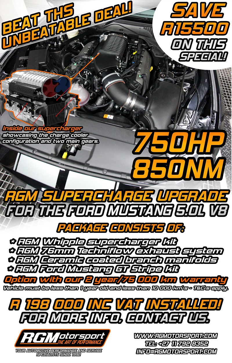 RGM UNBEAT SC FORD MUSTANG SPECIAL JULY 2017 EMAIL SIZE