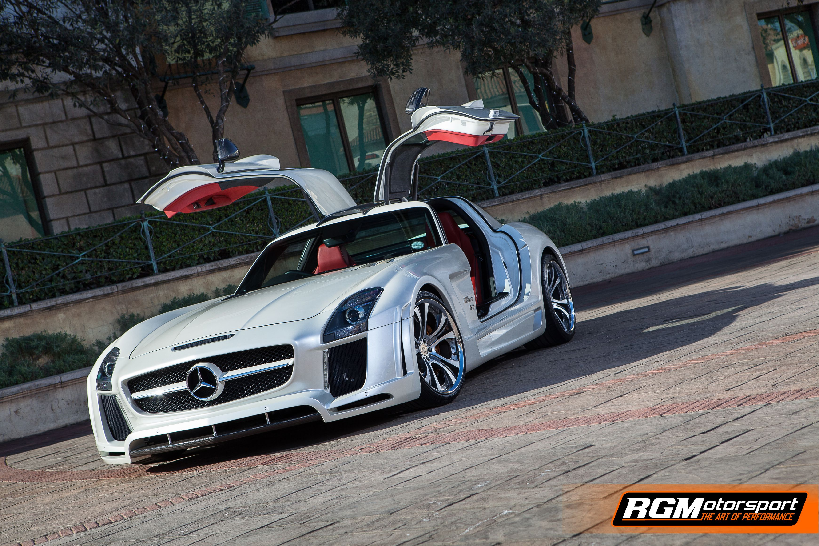 RGM BMW MERC SLS MONTE WALLPAPER 1
