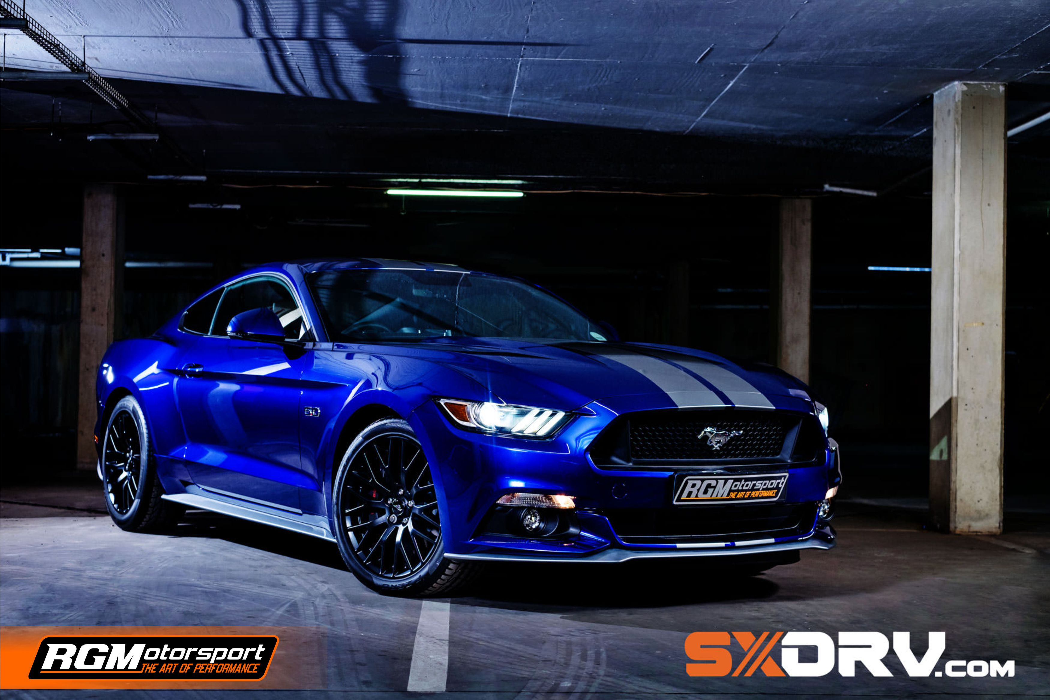 RGM FORD MUSTANG WALLPAPER 1